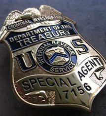 IRS Badge From Tax Lawyer